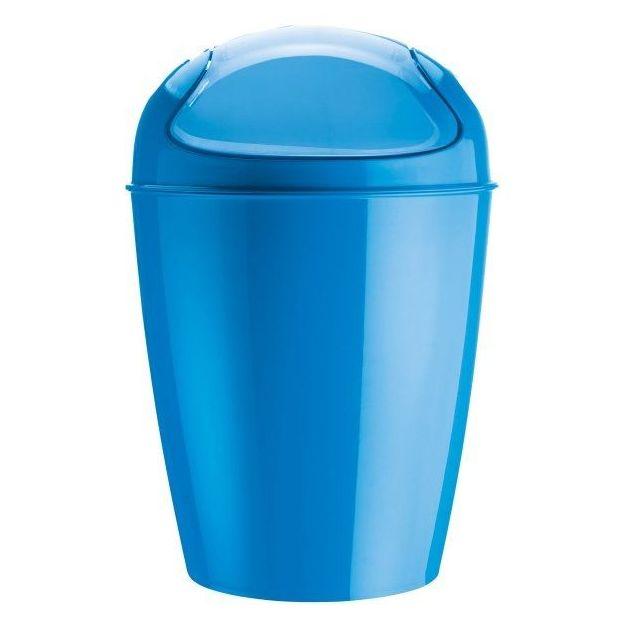 Schwingdeckeleimer DEL XL karibikblau von Koziol