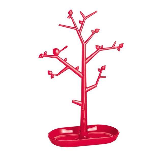 Schmuckbaum Pi:p L himbeer rot/rot von Koziol