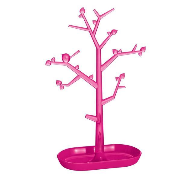Schmuckbaum Pi:p L solid pink/pink von Koziol