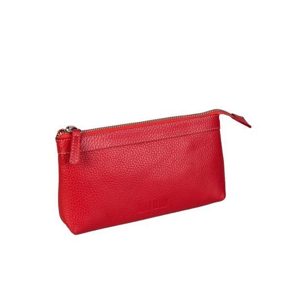 0714 Pochette à cosmétiques Claudia rouge