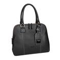 0714 Tasche mit doppelter Reissverschluss schwarz