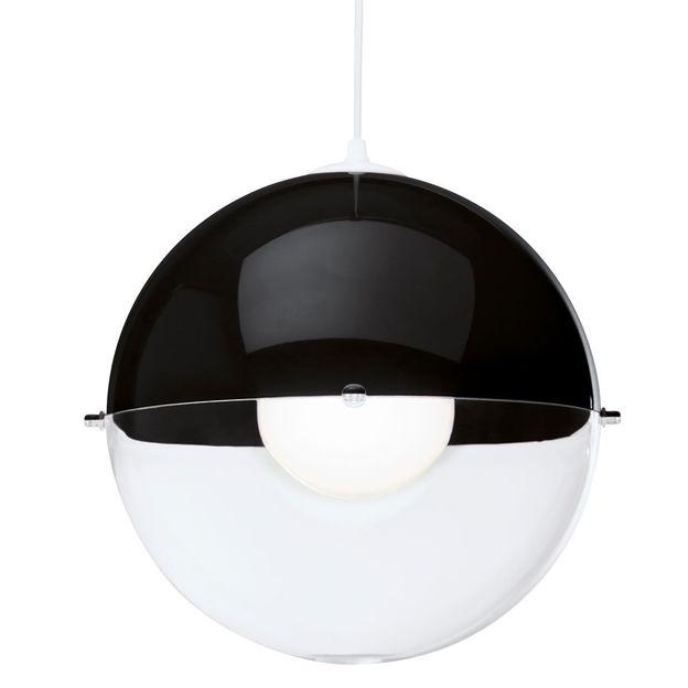 Lampe suspension ORION de Koziol noir