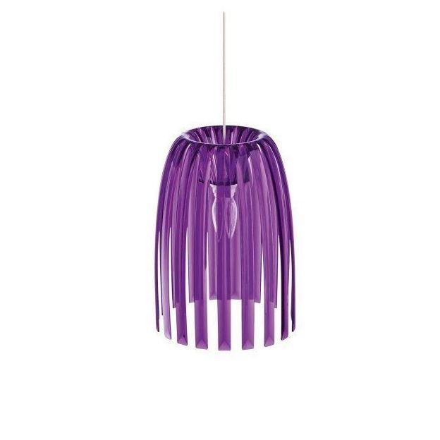 Pendelleuchte Josephine S violett von Koziol