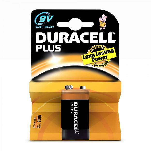 Duracell Plus Power Batterie 9V