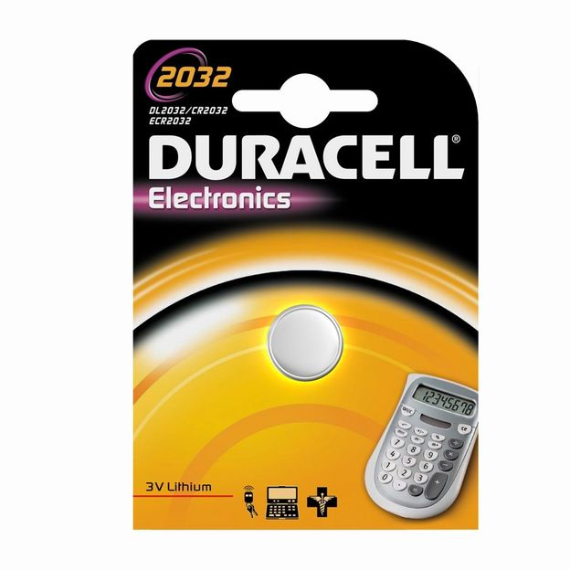 Duracell Electronics Batterie CR2032