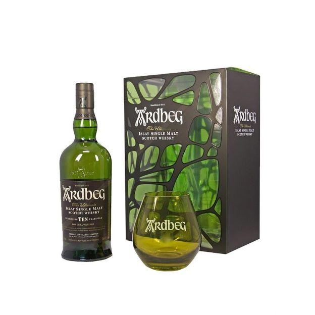 Set Whisky Ardbeg avec verre