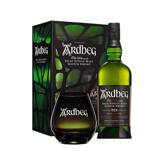 Ardbeg Whisky Set inklusive Glas