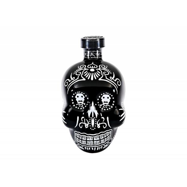 KAH Tequila Totenkopfflasche Anejo