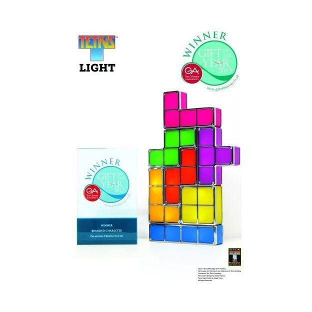 LampeTetris blocs lumineux