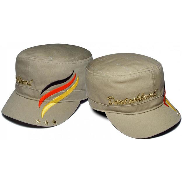 Army Fan-Cap Deutschland gold