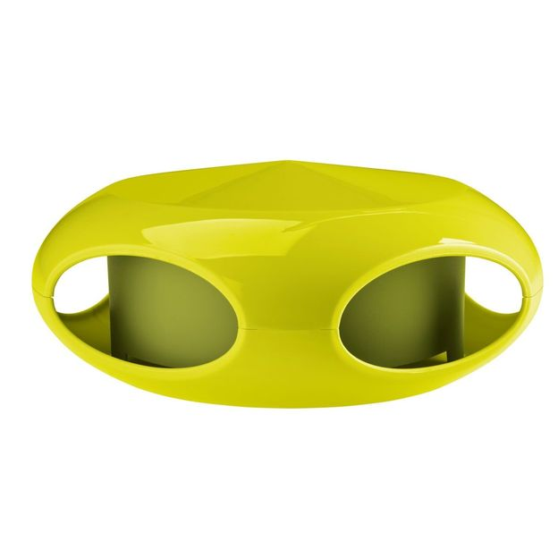 Mangeoire à oiseaux [pi:p] verte moutarde/verte olive de Koziol