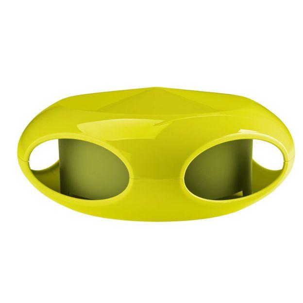 Vogelfutterhaus Pi:p senfgrün/olivgrün von Koziol