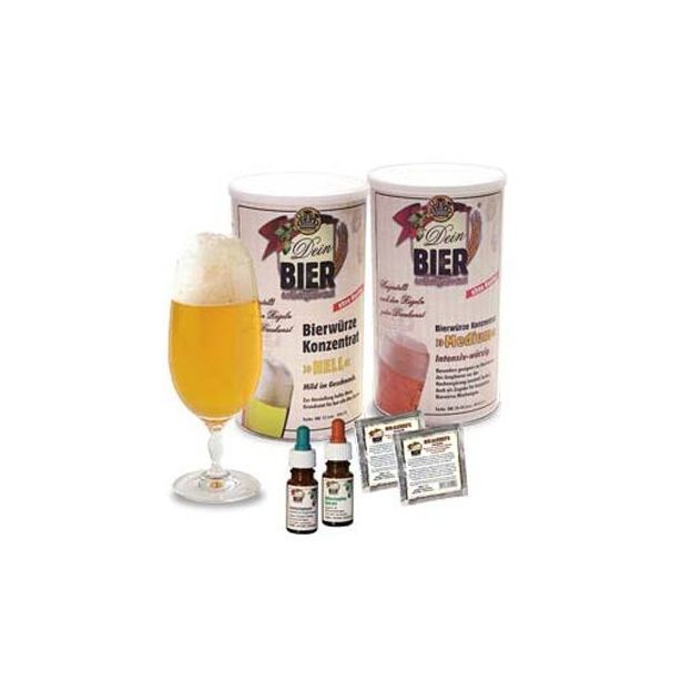 Set ingrédients Bière blonde