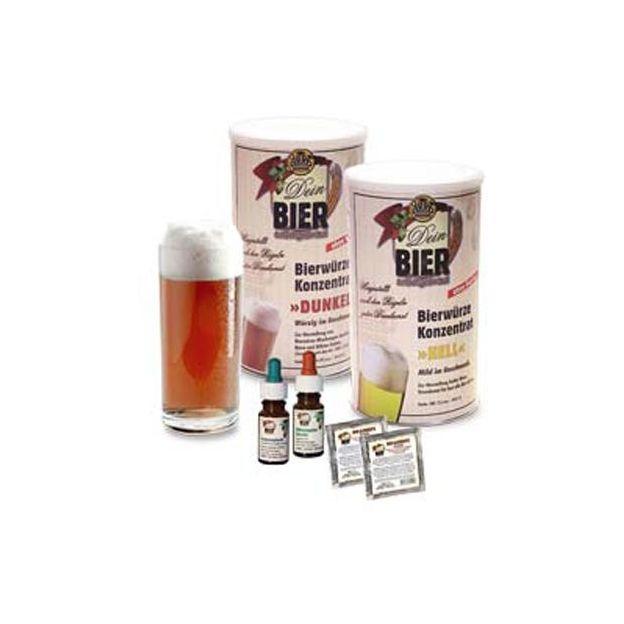 Set ingrédients Bière brune