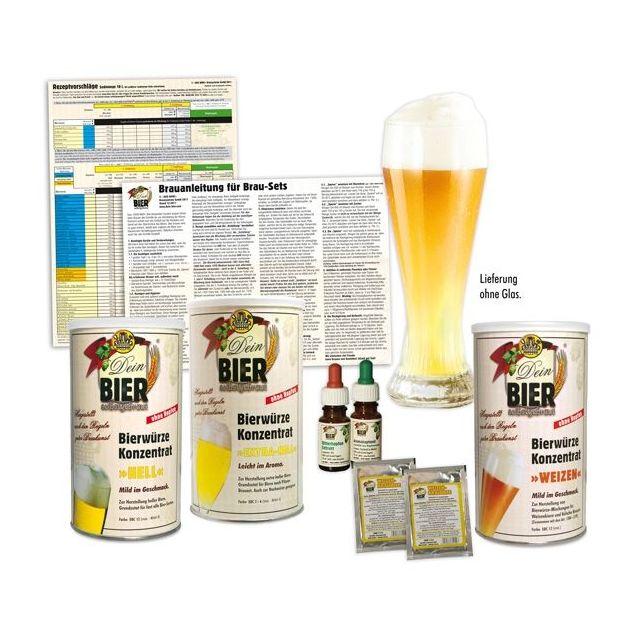 Set ingrédients Bière blanche
