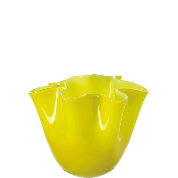Vase Lia 14.5 cm von Leonardo gelb/grün