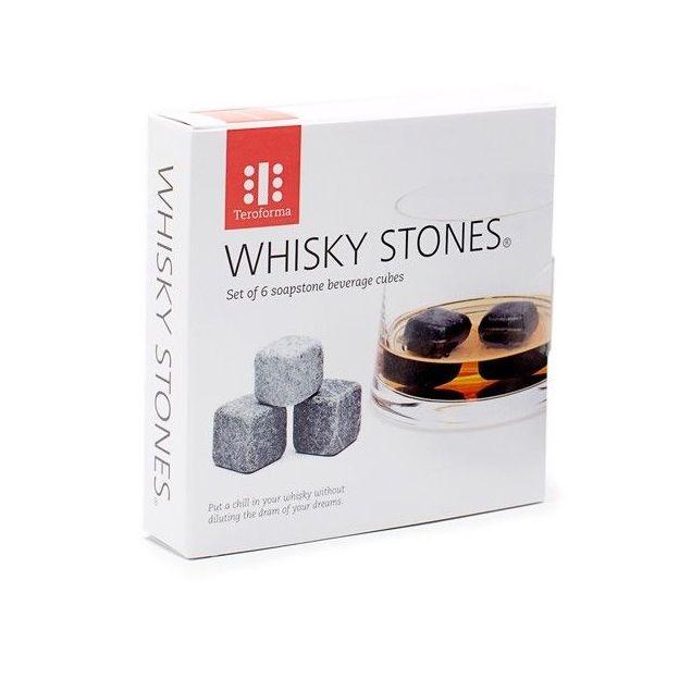 Whisky Speck Steine 6er Set inkl. Aufbewahrungsbeutel