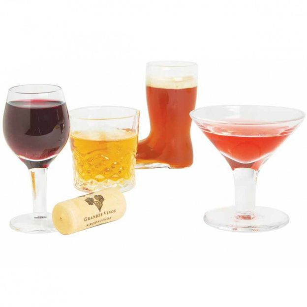 Set de 4 Mini verres à Cocktails