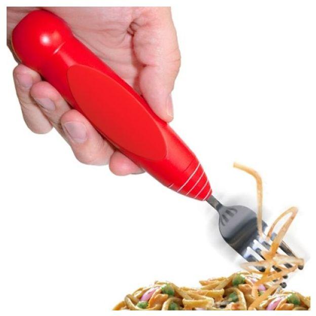 Spaghetti-Gabel mit Motor