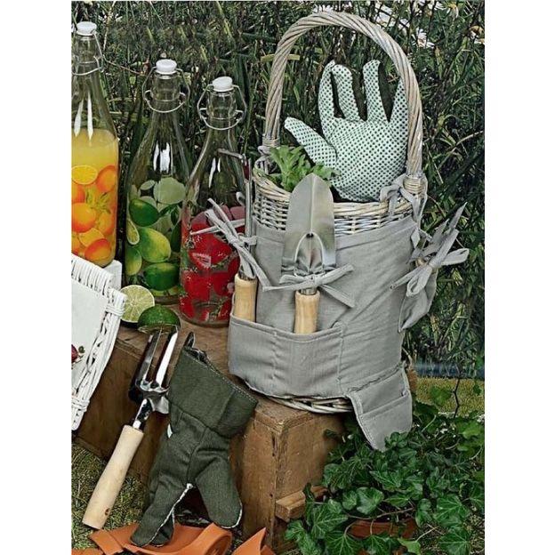 Outils de jardinage Panier Royal