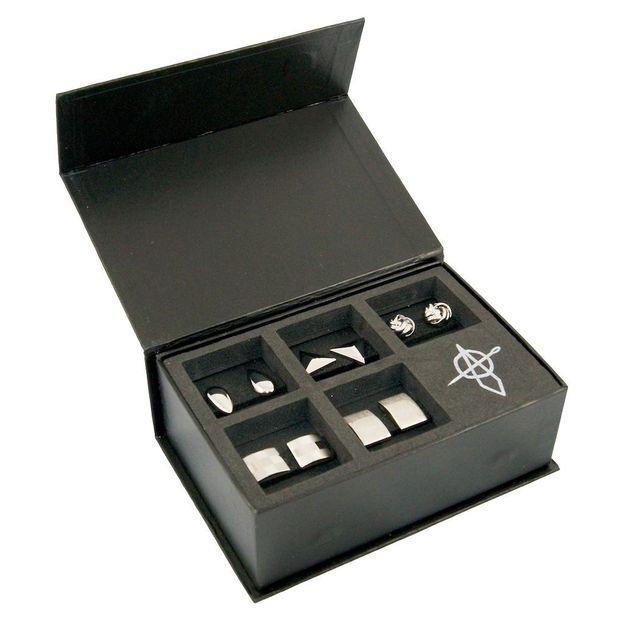 Manschettenknopf Geschenkbox Metal Management