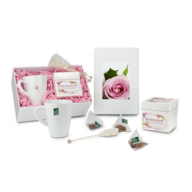 Set cadeau thé Rêverie en rose