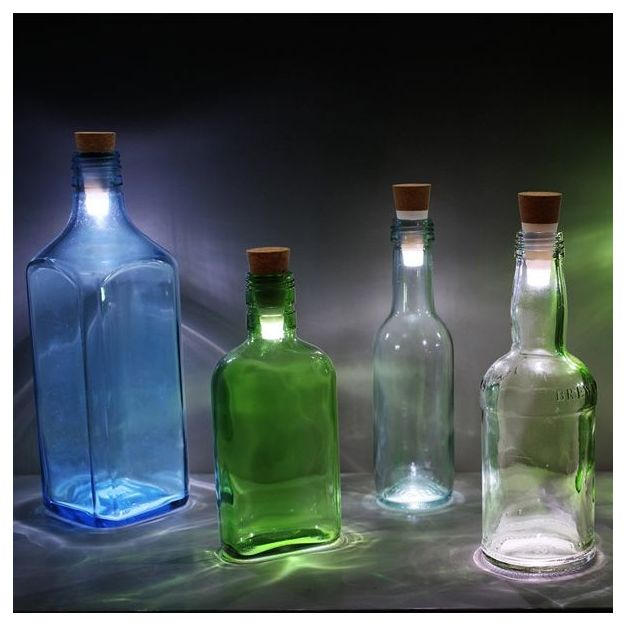 Ampoule bouchon rechargeable - Bottle Light