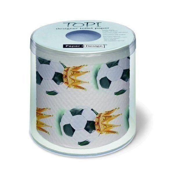 Toilettenpapier König Fussball