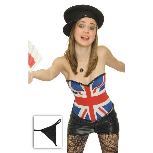 Corsage drapeau Grande-Bretagne