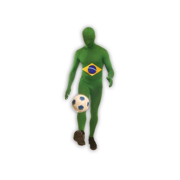 Länder Morphsuit Brasilien, Grösse M