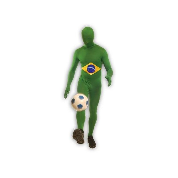 Länder Morphsuit Brasilien, Grösse L