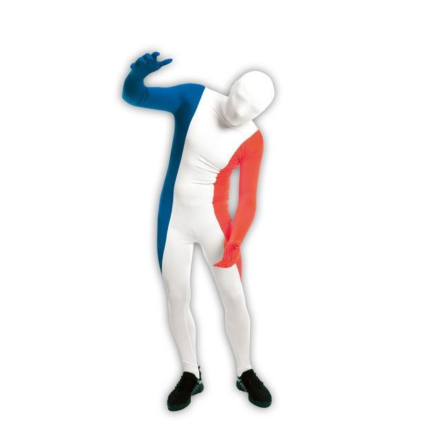Länder Morphsuit Frankreich, Grösse L