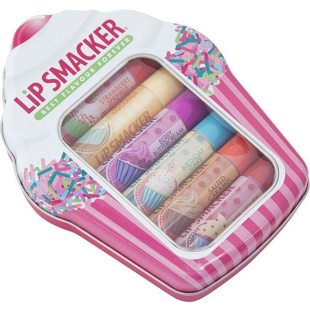 Lippenbalsam Cupcake Box