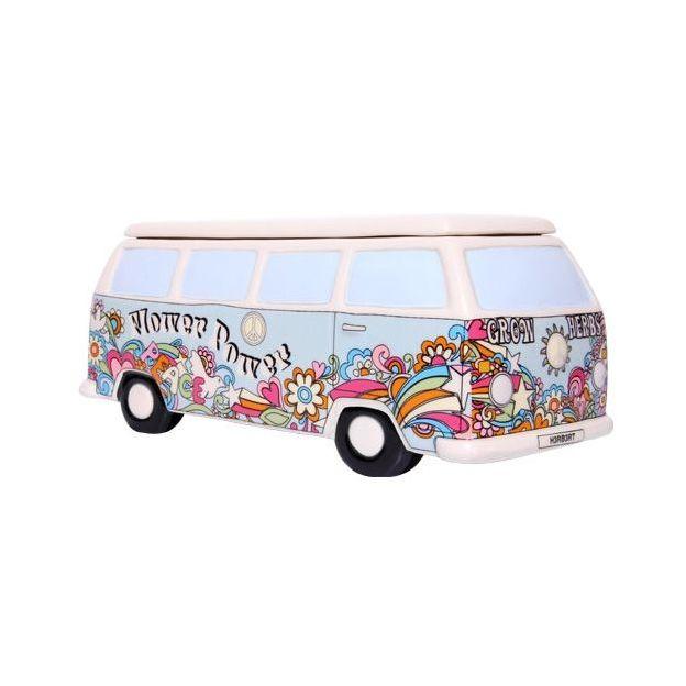 Pot à couvercle minibus rétro
