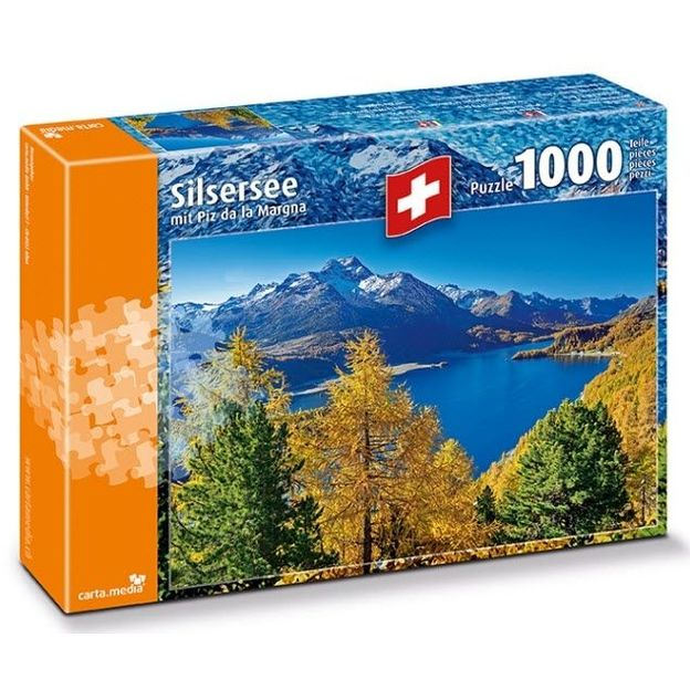 Puzzle Silsersee
