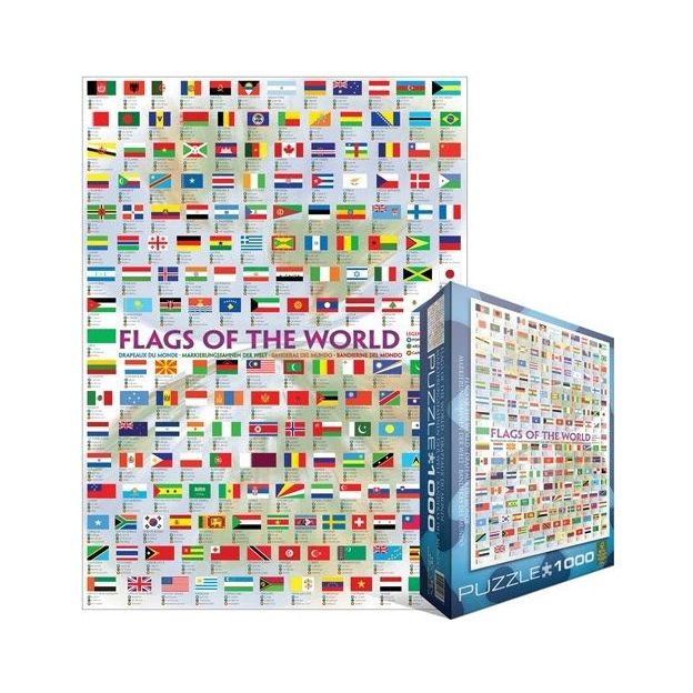 Puzzle Flags of the World