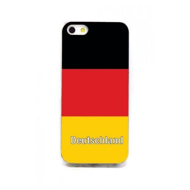 Housse LED iPhone 5 Nations foot Allemagne