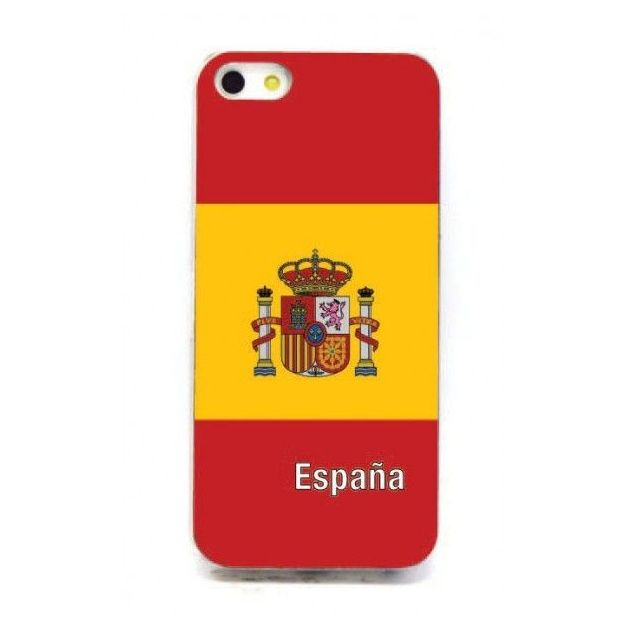 Housse LED iPhone 5 Nations foot Espagne