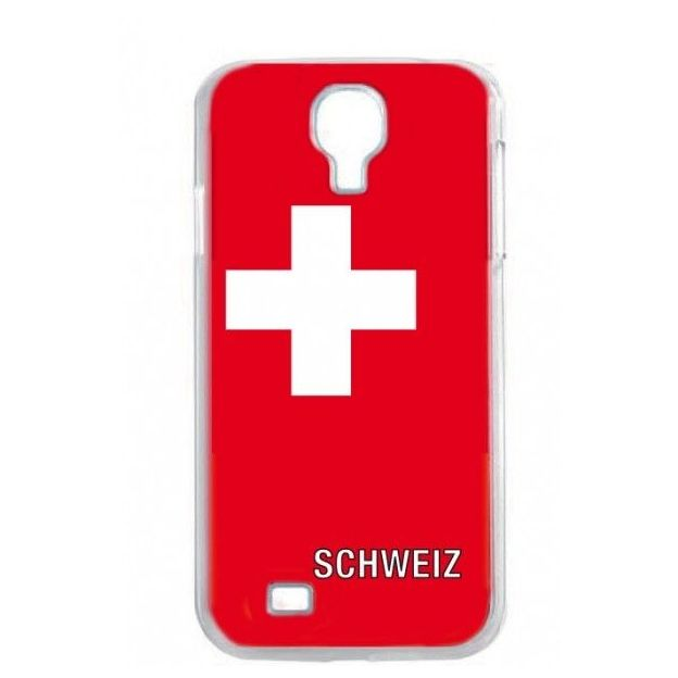 Housse LED Samsung S4 Nations foot Suisse