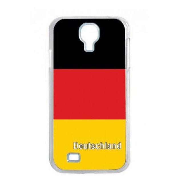 Housse LED Samsung S4 Nations foot Allemagne