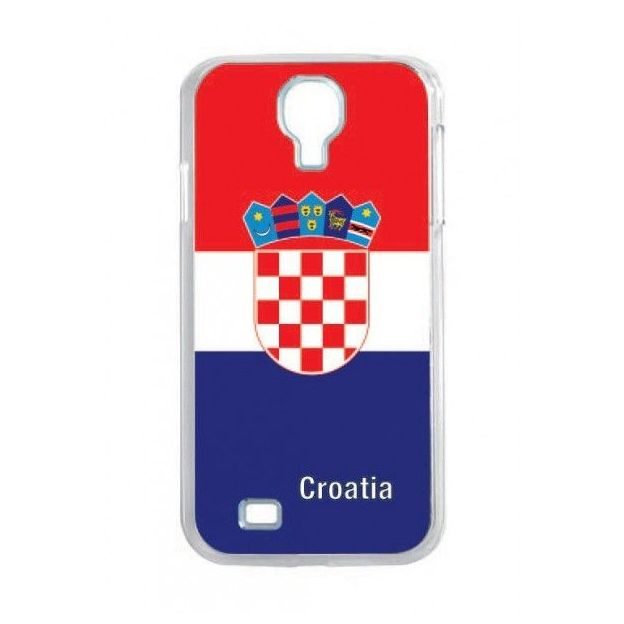 Housse LED Samsung S4 Nations foot Croatie