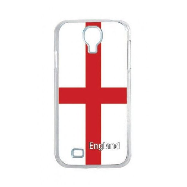 Housse LED Samsung S4 Nations foot Angleterre