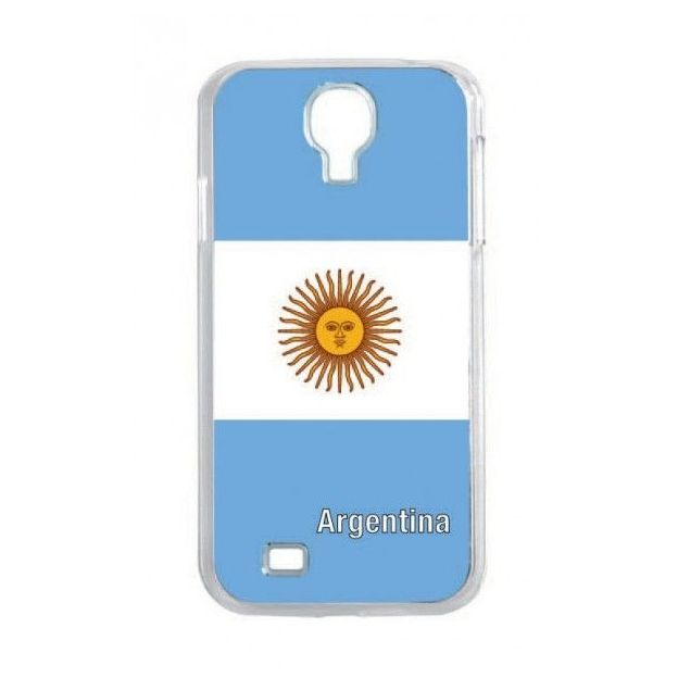Housse LED Samsung S4 Nations foot Argentine