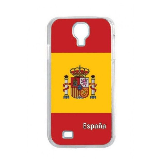 Housse LED Samsung S4 Nations foot Espagne