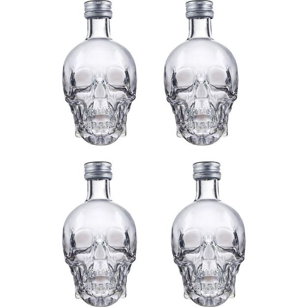 Crystal Head Vodka Shot 50ml 4er Set