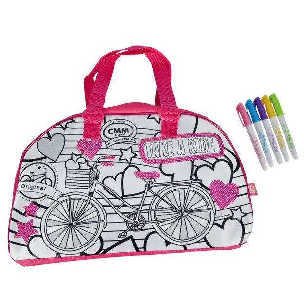 Color me mine Color Change Weekender Tasche zum Ausmalen