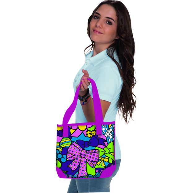 Color me mine Pink Fashion Bag