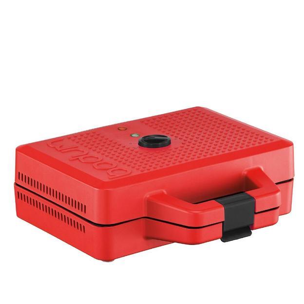 Gaufrier Bistro de Bodum rouge
