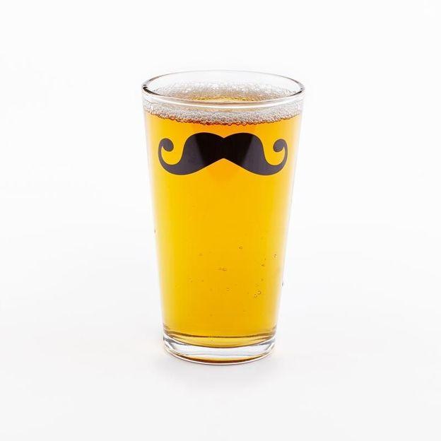 Moustache Glas