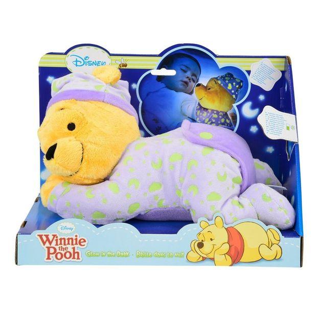 Doudou lumineux Winnie l'Ourson